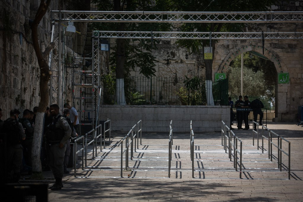Jew Detector: Muslim Worshippers Continue To Boycott The Temple Mount