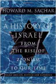 a history of israel= from the rise of zionist to our time